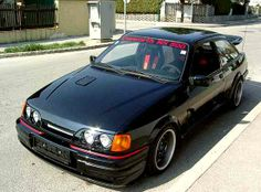 Ford Sierra Cosworth RS500 Ford Sierra, Ford Rs, Car Ford, Bmw E36, E36 Coupe, Mid Size Car, Old School Cars, Ford Escort, Sport Cars