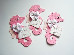 Die cut Seahorse Favor Tags Gift Tags Cards DIY Tag by Paperquick, $3.50