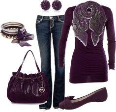 """""""Purple"""" by honeybee20 on Polyvore"""
