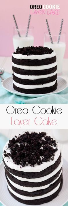 Oreo Cookie Layer Cake
