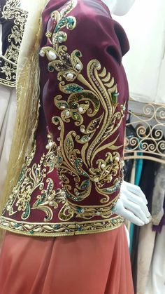Gold Embroidery, Embroidery Dress, Traditional Fashion, Traditional Dresses, Caftan Gallery, Rodeo Queen, Creative Embroidery, Cosplay Diy, Caftan Dress