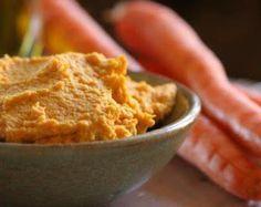 Kitchen Diaries Challenge 2013: Roasted Carrot Hummus
