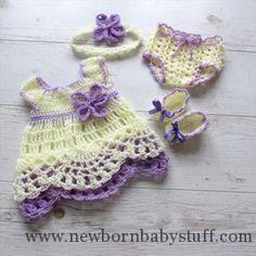 Crochet Baby Dress 26 Gorgeous Crochet Baby Dress For Babies | DIY to Make...