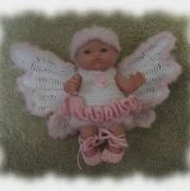 Ballerina Fairy Costume for 5 inch Doll - via @Craftsy