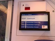 Amsterdam Station...!