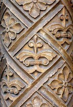 carved detail.