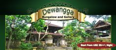 Dewangga Bungalows, Confortable, Place in Heart of Ubud Bali - Rooms start at $35/night