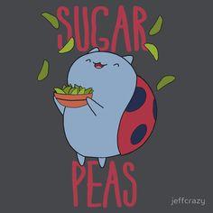 bravest warriors catbug sugar peas tshirt