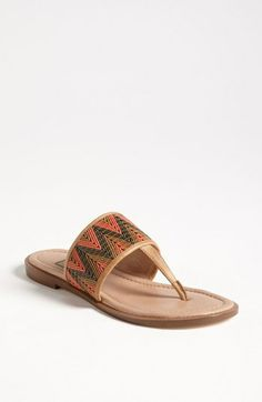 Ella Moss 'Giselle' Chevron Sandal available at Nordstrom!