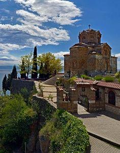 Church of St. John at Kaneo, Lake Ohrid, Republic of Macedonia (FYROM) | by Walter Ritt