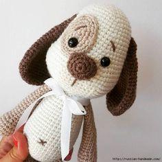 Вязаная собачка амигуруми. Описание вязания (8) (570x570, 149Kb)