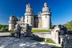 Château de Pierrefonds in Pierrefonds, France;  photo by loic80l, via Flickr