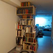 Customer made bookshelf