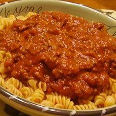 Mom's Out of this World Spaghetti Sauce Allrecipes.com