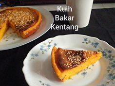 Kuih Bakar Kentang @ http://treatntrick.blogspot.com Another traditional recipe made without egg using mashed potato