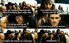 """""""We can resupply there & get back to shooting each other later."""" Lol Will"""