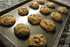 Gluten Free, Soy Free, Diary Free Chewy Chocolate Chip Cookies