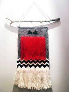 My latest weaving Twin Peaks project
