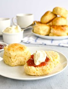 Scones from scratch, made using only 3 ingredients! Soft and moist, and must be served with copious amounts of cream and jam.