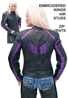 Would love this for my jacket, except I'd want white wings to match my helmet.... The Angel riding the Demon :)