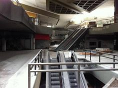 An abandoned mall