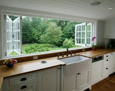 Ways to Give Your Kitchen a Deep Clean When I move to the country, I'm incorporating these windows into my dream home design.When I move to the country, I'm incorporating these windows into my dream home design. Home, Home Kitchens, Kitchen Remodel, Kitchen Design, House Design, Sweet Home, New Homes, New Kitchen, Dream Kitchen