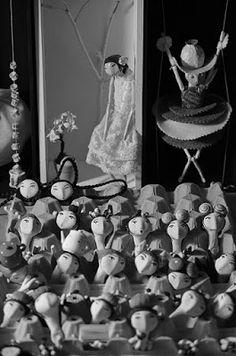 no pátio azul: A casa das bonecas