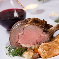 Rocco DiSpirito's Garlic and HorseradishCrusted Standing Rib Roast Roast Recipes, Cooking Recipes, Meat Doneness, Red Wine Gravy, Standing Rib Roast, Celebrity Chef, Italian Dishes, Beef Dishes, Spotlight