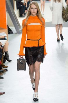Celebrate the New Pantone Shades with 12 of Fall's Best Orange-Hued Looks - Gallery - Style.com