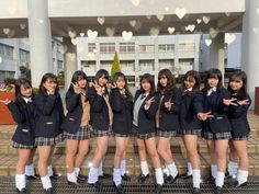 Gyaru Fashion, School Girl Outfit, Girl Outfits, Japanese Uniform, Girls In Mini Skirts, High School Girls, Japan Girl, Cute Asian Girls, School Uniform
