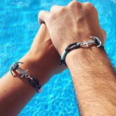 SUMMER GIVEAWAY! For the chance to win two Tom Hope bracelets, like this photo and tag a friend. The winners will be randomly selected later this week. Good luck! Photo courtesy of @mel_34s. #tomhope