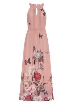 Orchid Jardin Print Maxi Dress