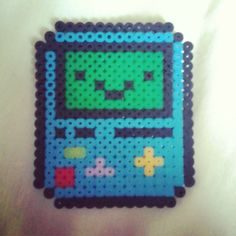 BMO Adventure Time hama mini beads by bj_paloma96