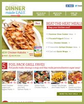 Dinner Made Easy Newsletter