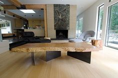 Live Edge Coffee Table: Life of Our Rested Table   Autonomous Furniture