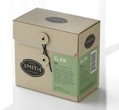 smith tea packaging