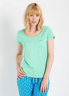 logo shortsleeve u-shirt liberty green #blutsgeschwister