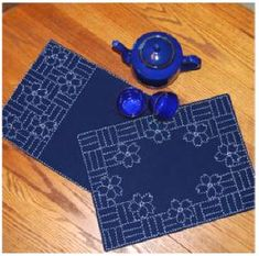 sashiko patterns free download | wulanharis.blogspot.com: Sashiko, First Project Table Runner
