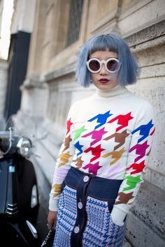 The best of street style during #PFW 2016. [Photo: Kuba Dabrowski]
