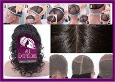 """Une Lace Wig est une perruque indétectable composée d'un bonnet appelé """"Tulle"""" qui imite le cuir chevelu sur lequel sont placés à la main et un par un de véritables cheveux humains."""