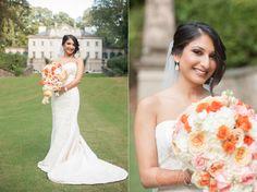 Indian Wedding Atlanta Garrett Frandsen #IndianWedding #Atlanta #garrettfrandsen Bride Swan House Fusion Dress