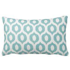 ready to ship aqua outdoor pillows outdoor lumbars ikat