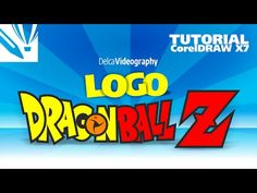 TUTORIAL CorelDRAW X7: LOGO DRAGON BALL Z - YouTube