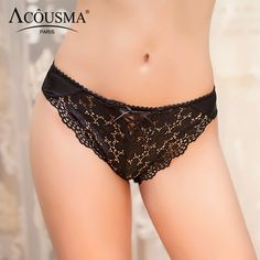 Satin Panties For Women Lace Bandage Brief Sexy Underwear Cotton Briefs Brand Lingerie Plus Size XXL