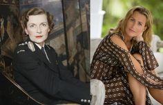 Edwina Mountbatten, Countess Mountbatten of Burma and her granddaughter India Hicks.