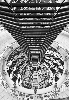 The Reichstag was built in the late 19th century to house the German parliament. In 1999, after a turbulent history during World War II and the Cold War, it became once again the meeting place for the German government. At the top of the building there's a huge glass dome from where you can watch the German politicians at work. And it also provides an amazing view over Berlin!