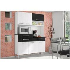 Kit Cozinha Compacta Armário Orion Branco com L...