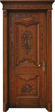 Exterior Decor Front Of The Most Beautiful Doors Around The World DeMilked. This Is The Color For Our New Front Door Duron's Stolen . The Doors, Entrance Doors, Traditional Front Doors, Wooden Main Door Design, Front Door Makeover, Wood Exterior Door, Wooden Doors, Gates, Rustic Wood