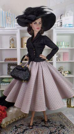 Barely Mauve for Silkstone Barbie.