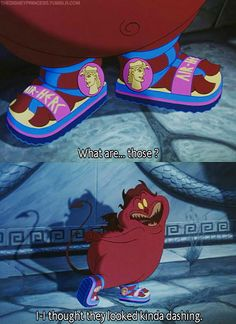 This is me when I wear new shoes